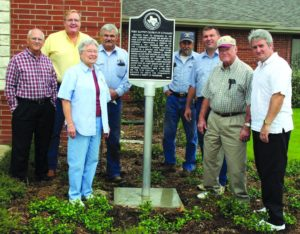 FBC Alvarado Historical Marker Dedication
