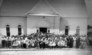 """One Sunday"" First Baptist Church Alvarado ca 1953 Sammy DeBord Pastor"