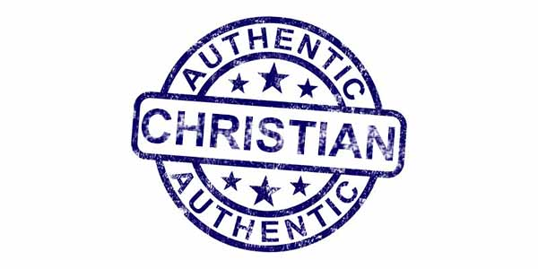 authentic christian